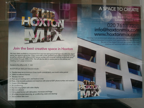 The Hoxton Mix, Paul Street