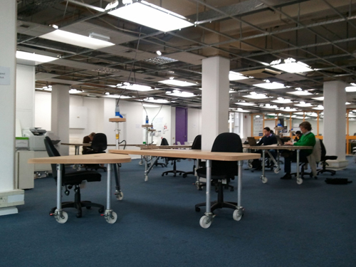 Hot Desk Area @ TechHub