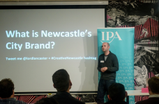 What is Newcastle's city brand?