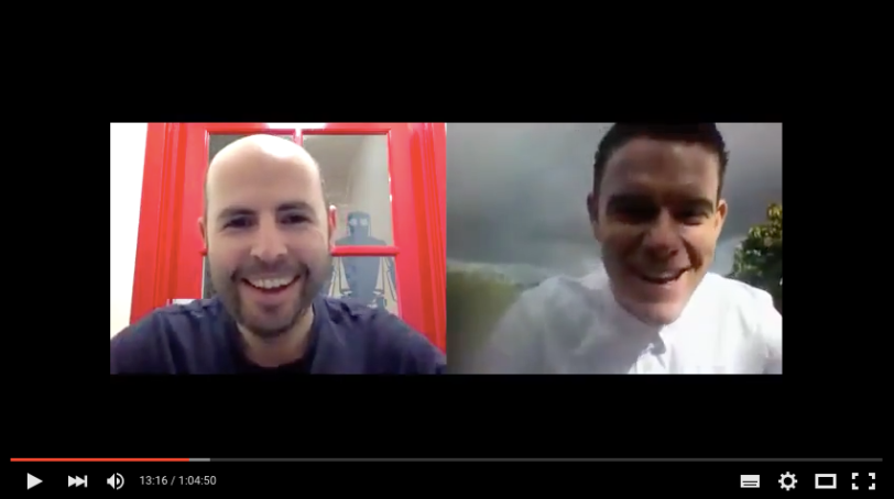 Screenshot of Jonny Cadden Blab