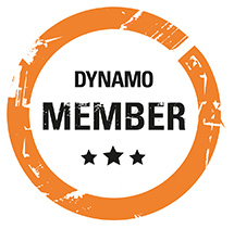 We're members of Dynamo North East. Are you? Click here to find out more