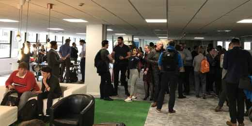 Newcastle Startup Week at Tuspark Eagle Lab